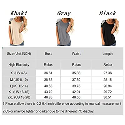 BLENCOT Women's Lightweight Color Block Long Sleeve Loose Fit Tunics Shirts Tops at Women's Clothing store