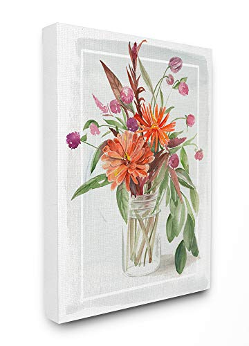 The Stupell Home Décor Collection Summer Wildflower Bouquet