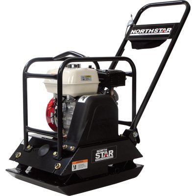 NorthStar Single-Direction Plate Compactor -with 5.5HP Honda GX160 Engine (Honda Compactor Engine)