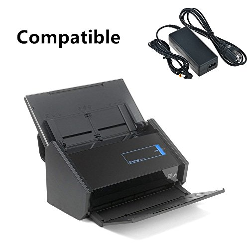 SLLEA AC/DC Adapter For Fujitsu ScanSnap iX500 Scan Snap Scanner PA03656-B005 Color Duplex Document Scanner Power Supply Cord Cable Charger by SLLEA (Image #2)