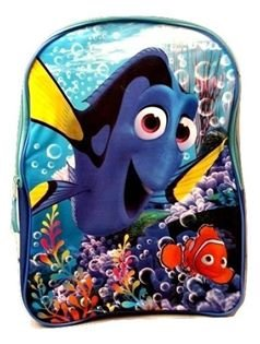 Todder Finding Dory Nemo Kids Back to School Pre-school Elementary Toy Figure Bookbag by Disney