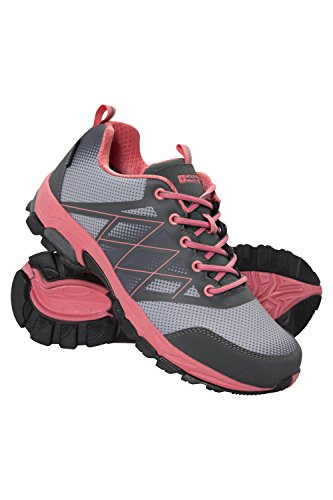 Mountain Warehouse Springbok Womens Waterproof Running Shoes Gris