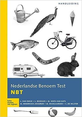 Nederlandse Benoem Test NBT: Handleiding: Amazon.es: L. van ...