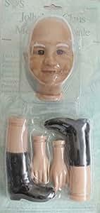 Amazon Com Syndee S Craft Jolly Mrs Claus Vinyl Doll Kit