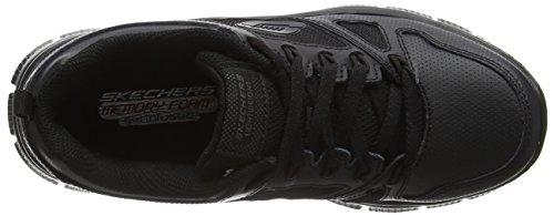 Skechers Flex Advantage - Zapatillas de Entrenamiento Niños Black (Bbk - Black)