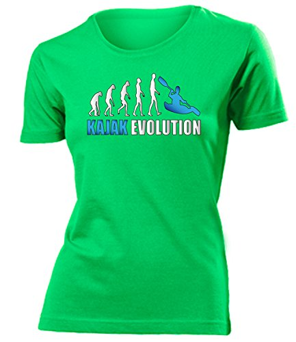 KAJAK EVOLUTION 619(F-Kellygreen-Weiss-Blau) Gr. M