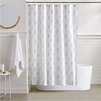 AmazonBasics Arrow Bathroom Shower Curtain - 72 Inch