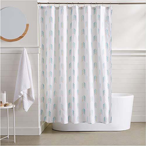 AmazonBasics Arrow Bathroom Shower Curtain - 72 Inch