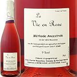 ドメーヌ・デュ・パ・サン・マルタン・ラ・ヴィ・アン・ローズ フランス ロゼスパークリングワイン 750ml ミディアムボディ やや辛口