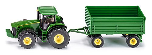 Tractor With Trailer Siku (1953) - Miniature John Deere