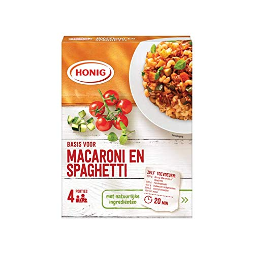 - Macaroni Spicemix | Honig | Basis for macaroni and spaghetti for 4 Portions | Total Weight 1.45 ounce