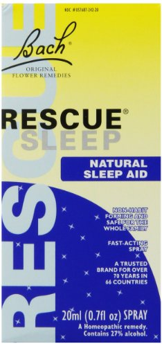 - Bach Rescue Remedy Sleep - 20 ml, 2 Pack