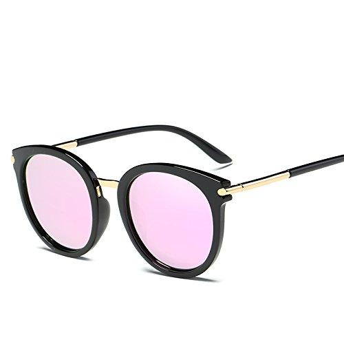 VVIIYJ Occhiali da sole femminili a faccia tonda polarizzata con occhiali da vista miopia di laurea ,miopia di astigmatismo