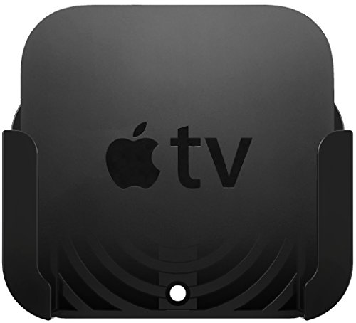 TotalMount Apple TV Mount - Compatible with all Apple TVs including Apple TV 4K - Apple Wall Mount