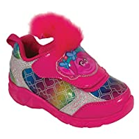 Favorite Characters Trolls Poppy Pink Lighted Athletic Shoes Toddler/Little Kid (12 M US Toddler)