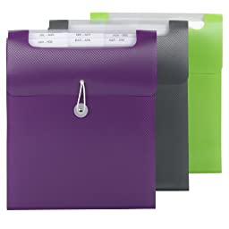 Smead Vertical Step Index Organizer, Letter Size, 1 Each, Color Will Vary (70918)