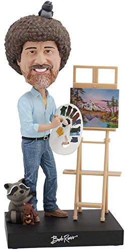 Royal Bobbles Bob Ross 2018 SDCC Exclusive Bobblehead ONLY 1,000 Numbered Pieces -