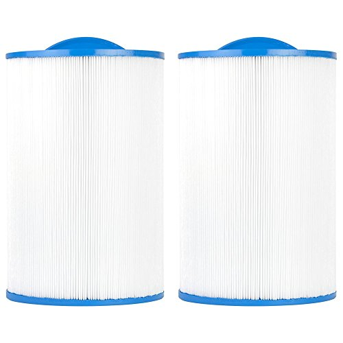 Clear Choice CCP393 Pool Spa Replacement Cartridge Filter for Caldera 50 Filter Media, 7