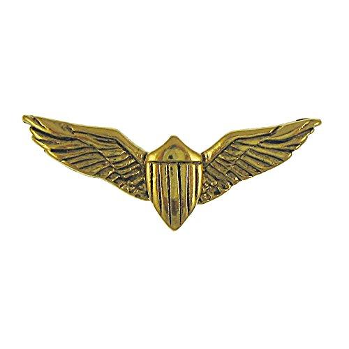 Jim Clift Design Pilot Wings Gold Lapel Pin - 1 Count