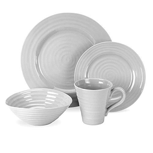 Portmeirion 592391 Table Set (4 Piece), Gray