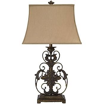 Perfect Ashley Furniture Signature Design   Sallee Ceramic And Metal Ornate Table  Lamp   Gold Finish