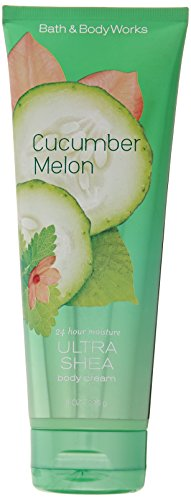 Splash Melon Body Cucumber - Bath & Body Works Ultra Shea Cream Cucumber Melon 8 oz