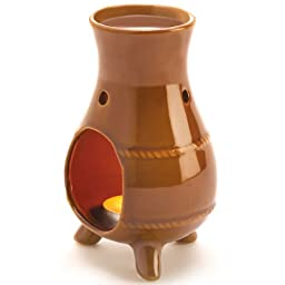 1 X Ceramic Chiminea Oil Warmer