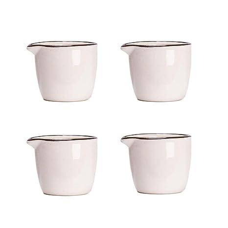 Amazon.com: CHOOLD - Mini jarra cremosa de cerámica colorida ...