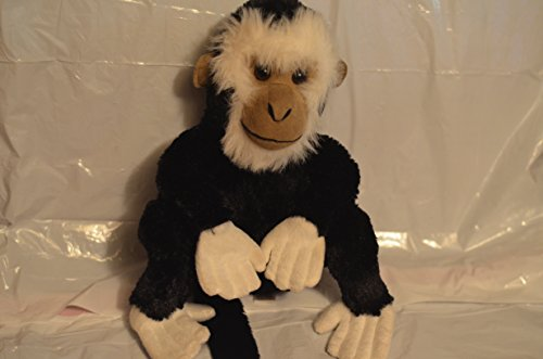 2007 Stuffed Black/white Baboon