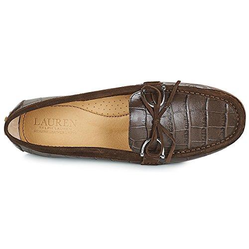 pour Marron 802 Lauren 001 710082 Chaussures Femmes Ralph PE1xwTqf