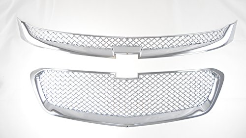 (SES Trims CHEVY MALIBU CHROME MESH OVERLAY GRILLE)