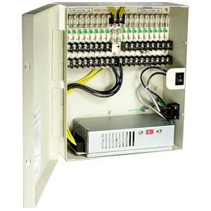 InstallerParts 18 Port DC12V 10Amps Power Supply Box, UL,OA-P12DC18PUL-10 by InstallerParts