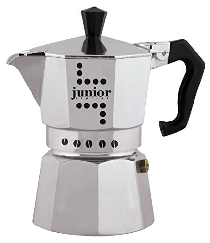 Junior Express Coffee Maker, Aluminium, Silver, 2 Cups by Junior Express