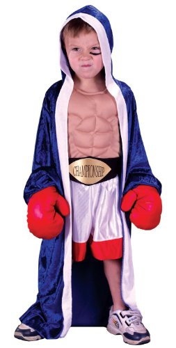 Lil Champ Costume Toddler Large