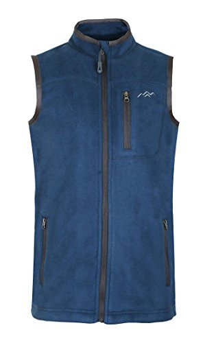 Zip Front Fleece Vest - 3