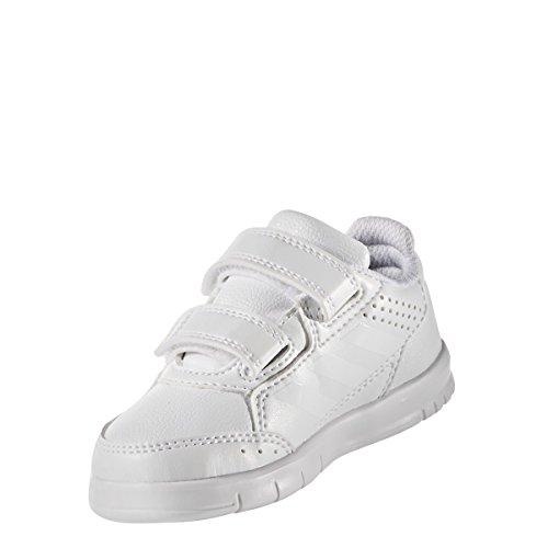 adidas AltaSport CF I - Zapatillas de deportepara niños, Blanco - (FTWBLA/FTWBLA/GRITRA), -25