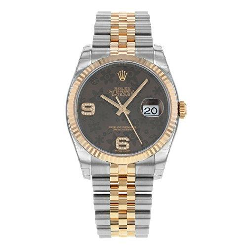 Rolex Datejust 116231 BRFDAJ 18K Pink Gold & Steel Automatic Ladies Watch