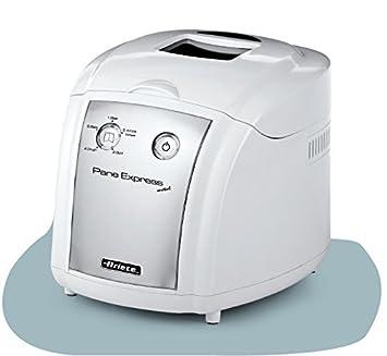 DeLonghi Ariete 125 Pane Express - Máquina para hacer pan (530 W), color plateado