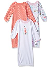 Hudson Baby Baby-Girls Infant Cotton Gowns