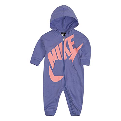 Nike Baby Hooded Coverall, Twilight Pulse, 3M ()