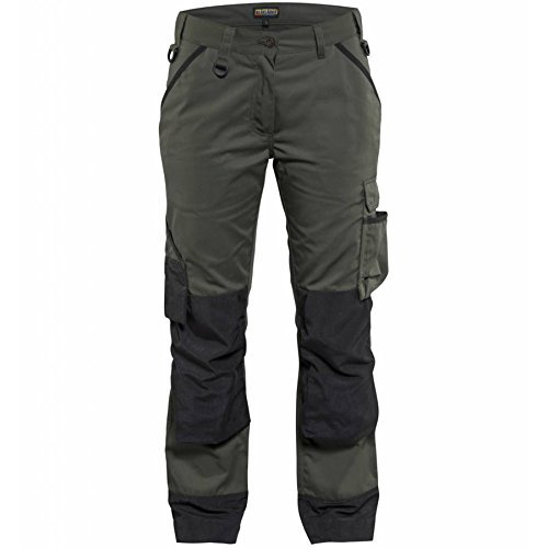Blakl?der 715418354699C36 Size C36 Garden Woman Trousers - Army Green/Black by Blakl?der by Blakl?der