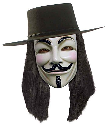 V For Vendetta Costume Wig (V for Vendetta Wig Costume Accessory)