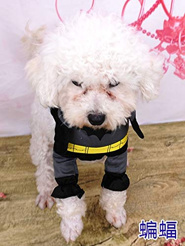 Cowmole Co. Cosplay Dog Clothes for Small Dogs Winter French Bulldog Jacket Standing Cartoon Dog Halloween Costume Chihuahua Pet Clothes]()