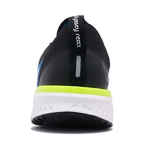 Nike Men's Odyssey React Running Shoes (7.5, Photo Blue/Black) by Nike (Image #3)