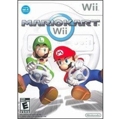 Mario Kart Wii (Best Driving Games For The Wii)