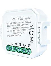 Intelligente DIY-schakelaar voor DIY-module Smart Life/Tuya app, afstandsbediening, compatibel met Alexa Echo Google Home 1/2 Way 1C dimmer