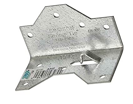 20 Pack Simpson Strong-Tie A34Z Galvanized Framing Angle Bracket ...