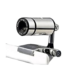 Frontsale 1200p USB Portable HD Webcam with Autofocus and Wide-angle Lens Computer Camerca ,Drives Free