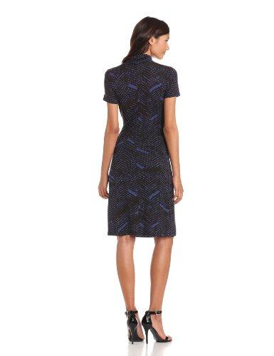 Karen Kane Women's Cascade Wrap Dress