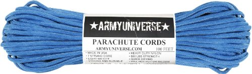 Army Universe Colonial Blue 550LB Military Nylon Paracord Rope 100 Feet by Army Universe (Image #3)